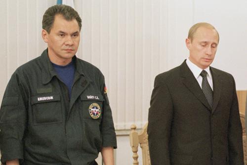 Shoigu och Putin Foto: Wikipedia