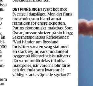 Sakerhetspolitik bakom finsk jatterazzia