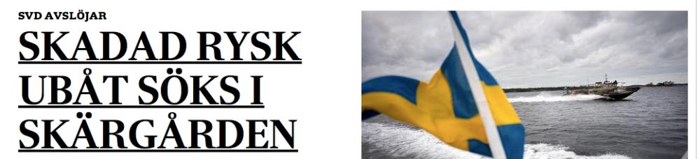 Printscreen från svd.se