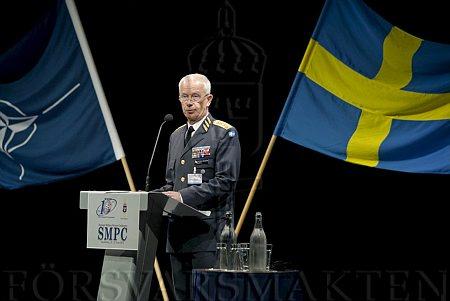 Nato diskuterades i debatten